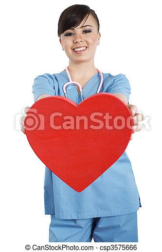 trabalhador saúde, cuidado - csp3575666
