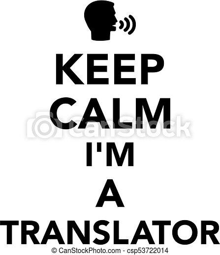 translator, pacata, mantenha - csp53722014