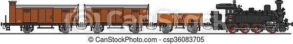 trem, vapor, clássicas - csp36083705