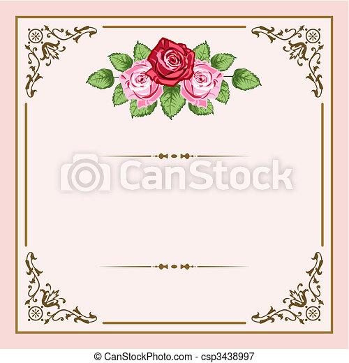vindima, rosas - csp3438997